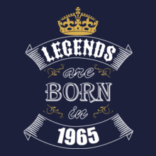 Legends are Born in 1965 Legends-are-born-in-%C. T-Shirt