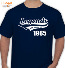 Legends are Born in 1965 T-Shirts
