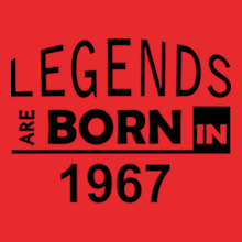 Legends are Born in 1967 Legends-are-born-in- T-Shirt