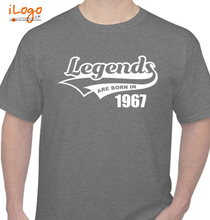 Legends are Born in 1967 Legends-are-born-in-. T-Shirt