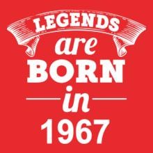 Legends are Born in 1967 Legends-are-born-in-%B T-Shirt
