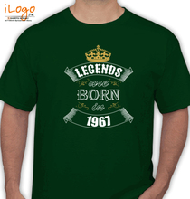 Legends are Born in 1967 Legends-are-born-in-% T-Shirt