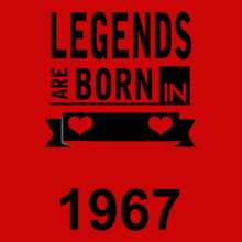 Legends are Born in 1967 Legends-are-born-in-%%B T-Shirt