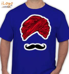 pagdi mouchtache - T-Shirt