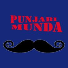 punjabi-munda-moshtache T-Shirt