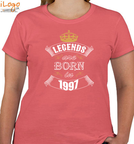 legend are born in ...... - T-Shirt [F]