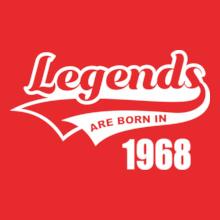 Legends are Born in 1968 Legends-are-born- T-Shirt
