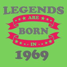 Legends are Born in 1969 Legends-are-born-in- T-Shirt