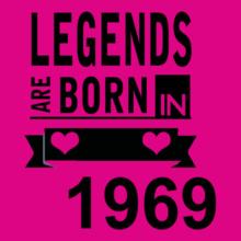 Legends are Born in 1969 Legends-are-born-in-. T-Shirt