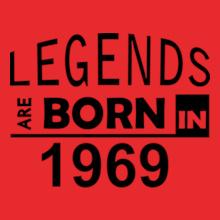 Legends are Born in 1969 Legends-are-born-in-%C%C T-Shirt