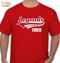 Legends are Born in 1969 T-Shirts