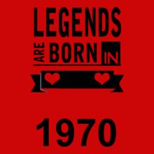 Legends are Born in 1970 Legends-are-born-in- T-Shirt
