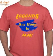 Legends are Born in May Legends-are-born-in-may.. T-Shirt