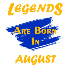 Legends are Born in August Legends-are-born-in-august%% T-Shirt