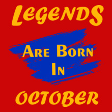 Legends are Born in October Legends-are-born-in-october%C%C T-Shirt