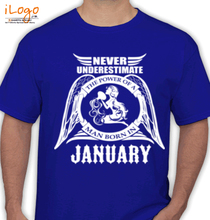 Legends are Born in January T-Shirts