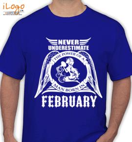 LEGENDS BORN IN FEBRUARY.. ... - T-Shirt