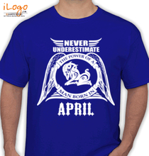Legends are Born in April T-Shirts