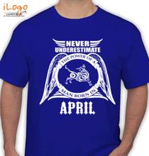 Legends are Born in April LEGENDS-BORN-IN-APRIL...-.. T-Shirt