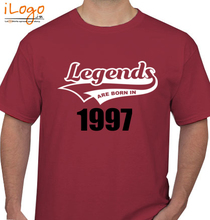Legends are Born in 1997 T-Shirts
