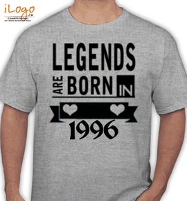 legend are born in - T-Shirt