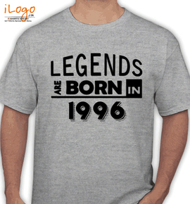 legend ar born in %C%C%C./ - T-Shirt