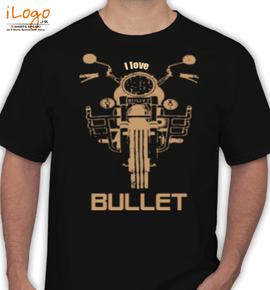 i love bullet - T-Shirt