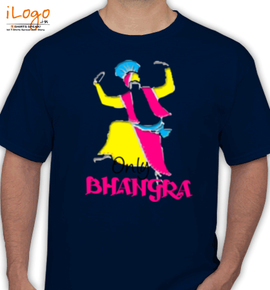 only bhangra. - T-Shirt