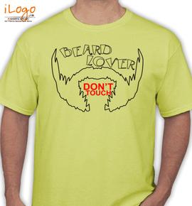 lover of beard - T-Shirt
