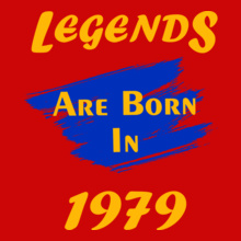 Legends-are-born-in- T-Shirt