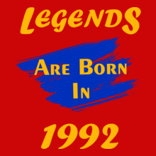 Legends-are-born- T-Shirt