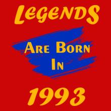 Legends are Born in 1993 Legends-are-born- T-Shirt