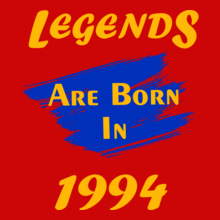 Legends are Born in 1994 Legends-are-born- T-Shirt