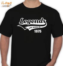 Legends are Born in 1975 Legends-are-born- T-Shirt