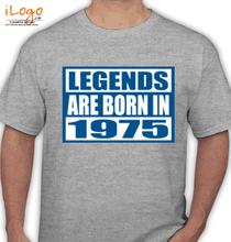 Legends are Born in 1975 Legends-are-born-in-%B T-Shirt