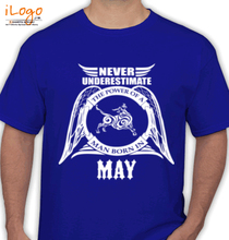 Legends are Born in May LEGENDS-BORN-IN-MAY...-. T-Shirt