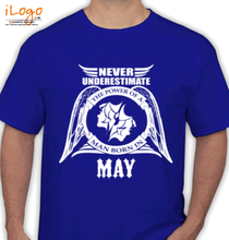 Legends are Born in May T-Shirts