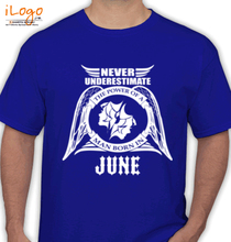 Legends are Born in June LEGENDS-BORN-IN-JUNE.-... T-Shirt