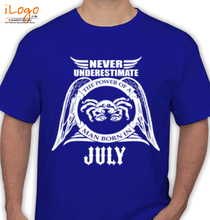 Legends are Born in July LEGENDS-BORN-IN-JULY...-. T-Shirt
