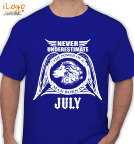 LEGENDS BORN IN JULY ... . - T-Shirt