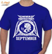 Legends are Born in September LEGENDS-BORN-IN-SEPTEMBER.-... T-Shirt