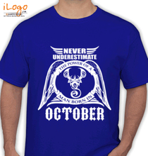 Legends are Born in October T-Shirts