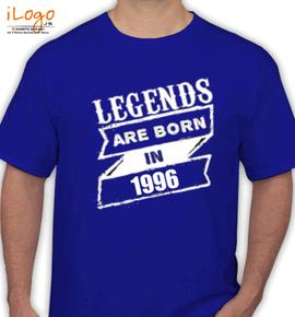 LEGEND ARE BORN IN %C%B%B%B - T-Shirt