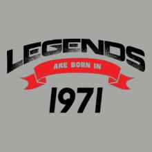 Legends are Born in 1971 Legends-are-born-in-%C T-Shirt
