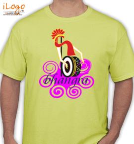 dhol bhagra - T-Shirt