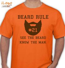 Beard beard-rule- T-Shirt