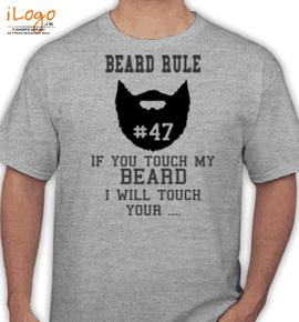 Dont-touch-beard - T-Shirt