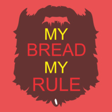 Beard my-bread-my-rule T-Shirt