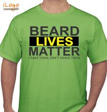 Beard I-save-them T-Shirt