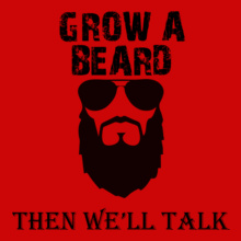 Beard Then-will-talk T-Shirt